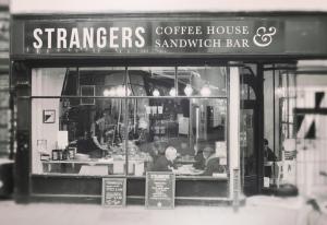 Strangers shop